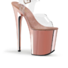Pleaser Flamingo 808 rosé Sandalette