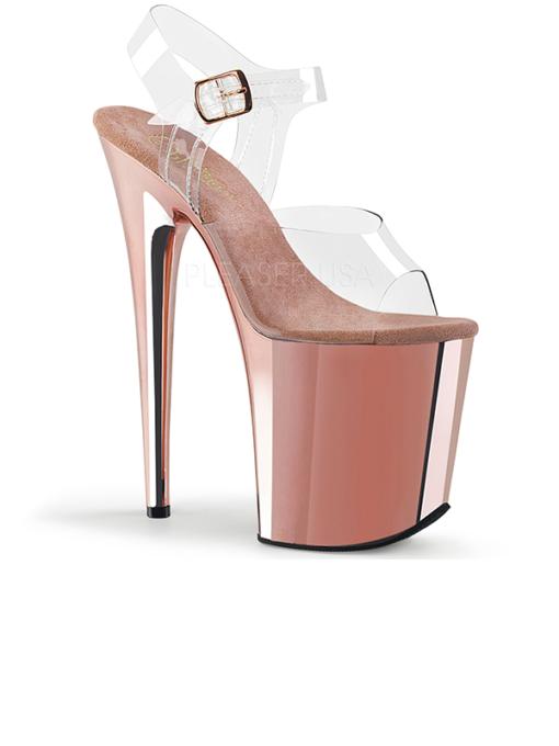 Pleaser Flamingo 808 rosé Sandalette