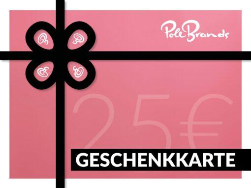25 Euro Geschenkkarte