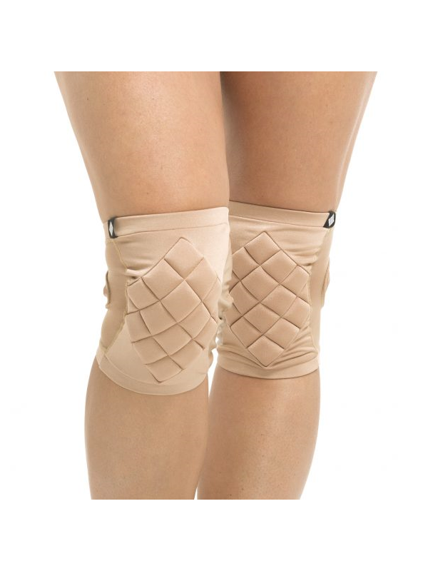 Poledancerka Knee Pads invisible mit Grip