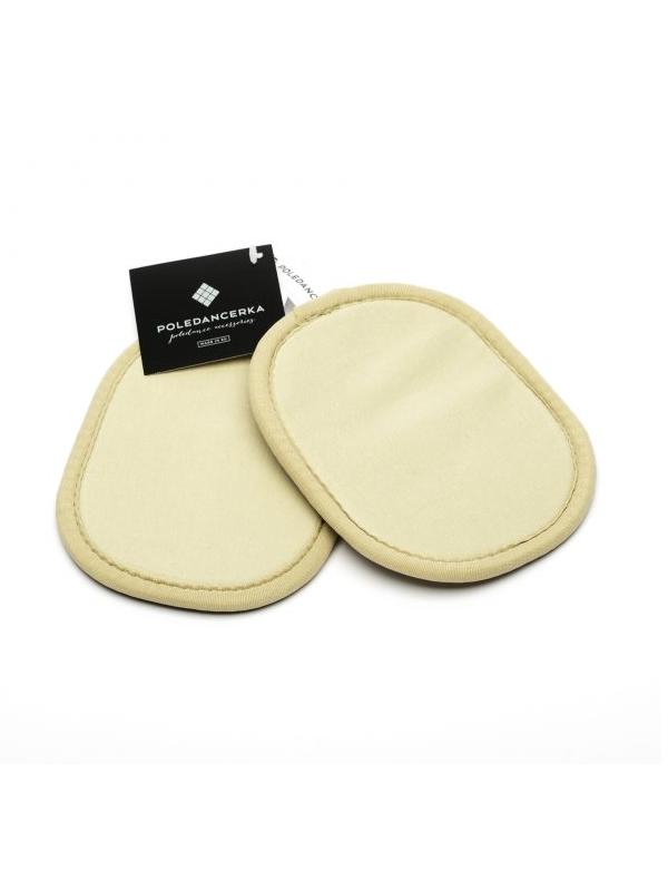 nude invisible Pads für Poledancerka Knee Pads