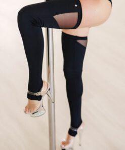 Poledancerka Leg Warmers schwarz