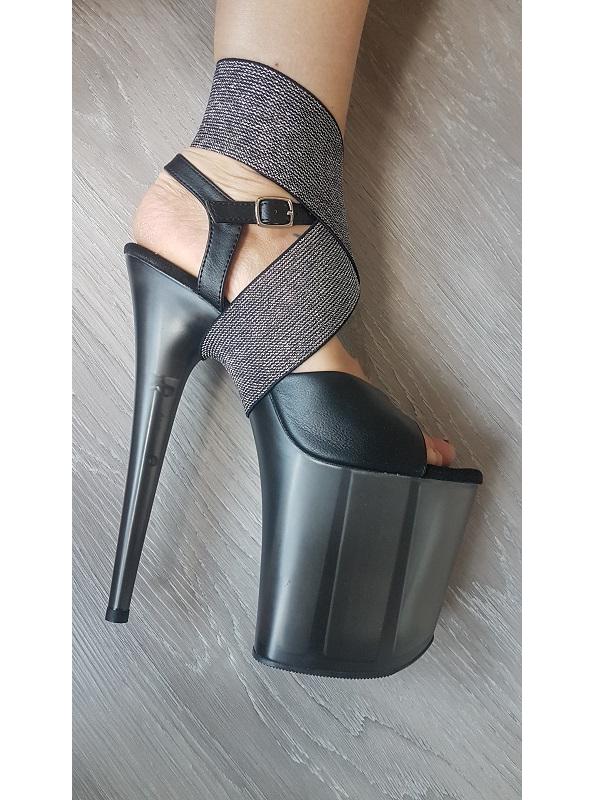 Ankle Keeper schwarz silber