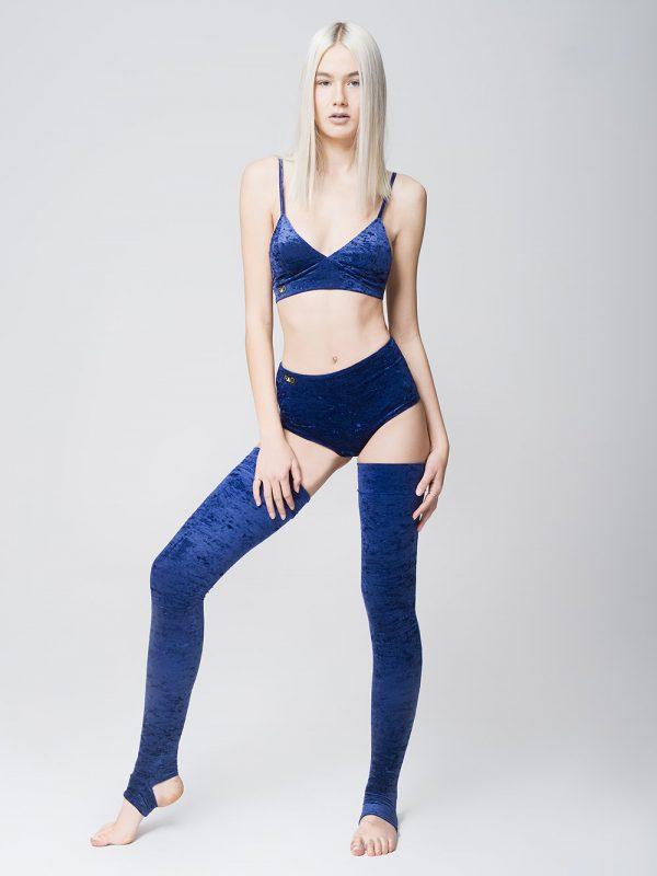 RAD Polewear Leg Warmers blau
