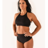 Off the Pole Embossed Sports Bra schwarz