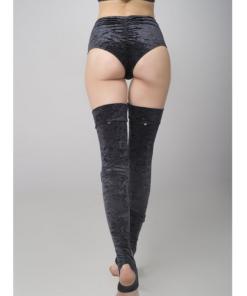 Velvet Leg Warmers schwarz Titelbild