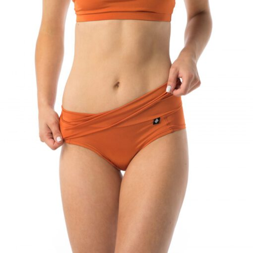 Poledancerka Pull Up & Down Shorts terracotta