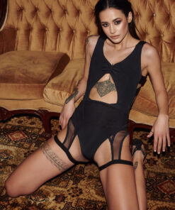 Paradise Chick Exotique Seamed Suspender 4
