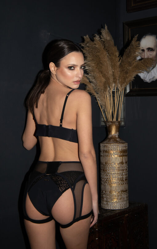 Paradise Chick Exotique Seamed Suspender 3